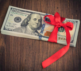 Rules for a gift of money for a mortgage downpayment.