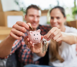How can first time home owners build equity in their home faster.